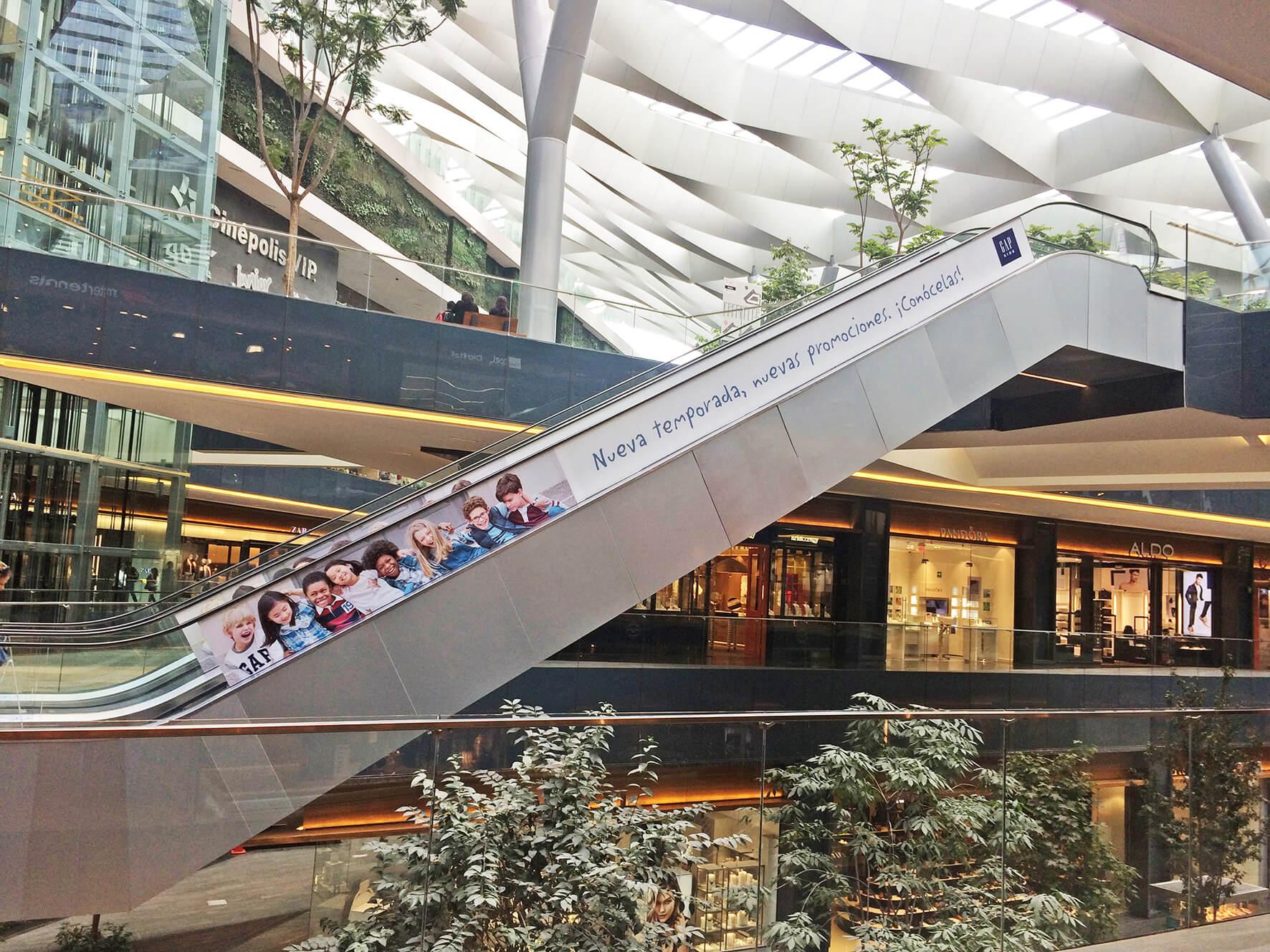Publicidad en Centros Comerciales